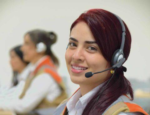 01 8000 18 08 18 Línea telefónica de atención de emergencias Disponible las 24 horas del día y los 7