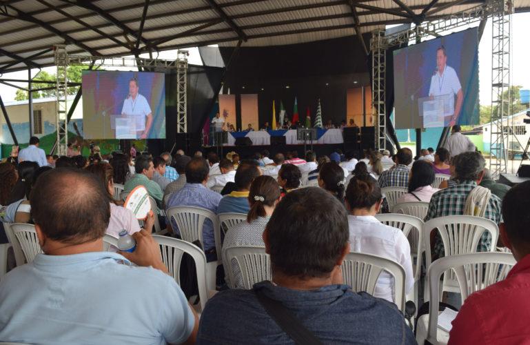 9 de febrero de 2017, Audiencia Pública en Restrepo en el Marco del Licenciamiento Ambiental de la Unidad Funcional 1