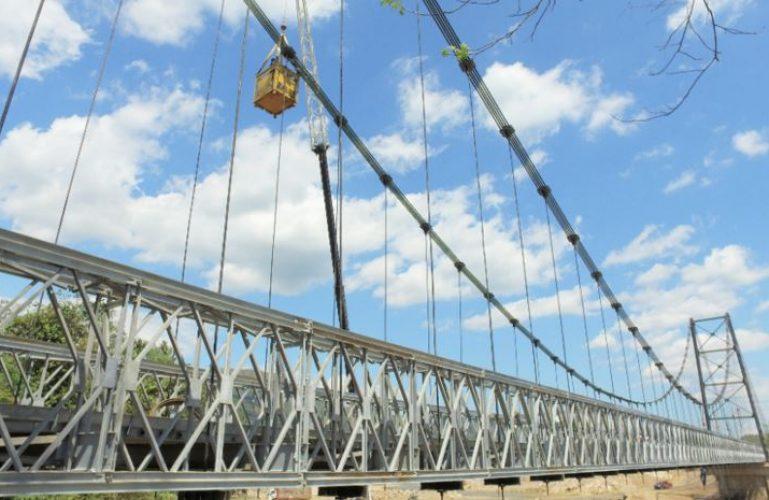 Iniciará nuevo mantenimiento de los puentes provisionales INVIAS 1 y 2 sobre el río Charte