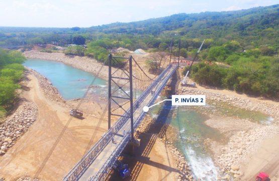 """Inicia mantenimiento nocturno del puente vehicular provisional INVIAS 2 en el sector """"El Charte"""""""