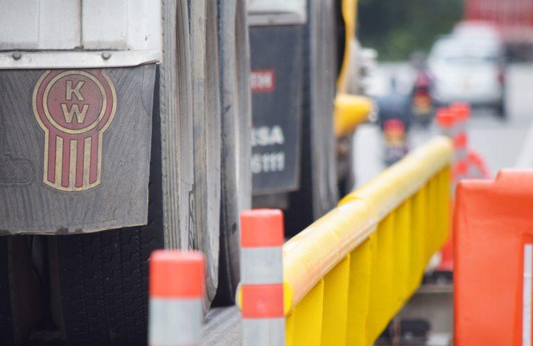 Durante los días 9 y 10 de diciembre todos los vehículos de carga serán pesados en las básculas provisionales 'pesa por ejes'