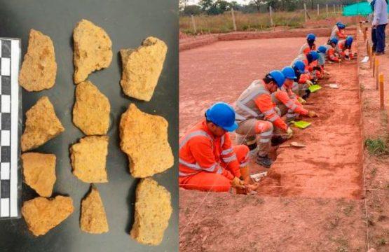 Covioriente rescata elementos arqueológicos en sector de la variante de Cumaral