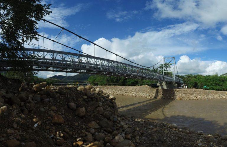 Covioriente realizará mantenimiento nocturno a los puentes provisionales de El Charte