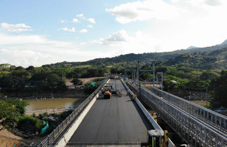 Durante dos días se restringirá el paso vehicular por el puente metálico INVÍAS 1, en horas de la mañana