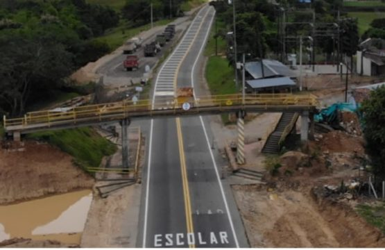 Por desmonte de Puente Peatonal existente se restringirá durante 3 horas la movilidad en el sector de La Turúa, entre Aguazul y Tauramena