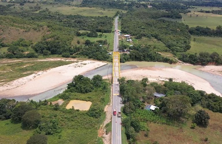 Cierre total nocturno del puente Chitamena por mantenimiento
