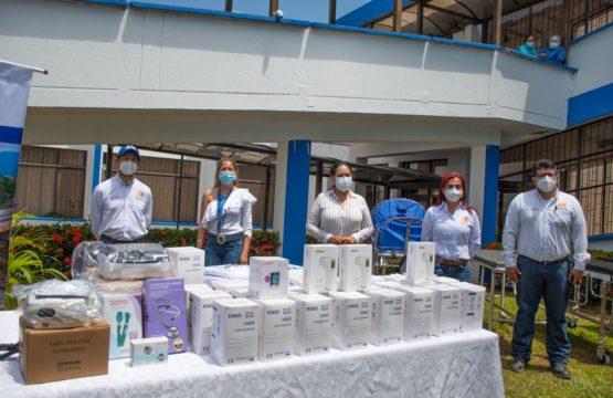 Covioriente realizó la entrega de dotación médica a hospitales de 11 municipios