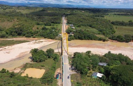 Restricción vehicular nocturna en el puente Chitamena